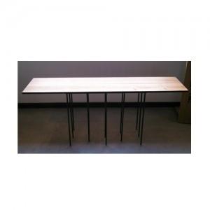 13本の丸鋼テーブル -13 ROUND BAR TABLE-